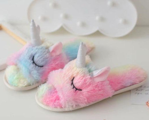 Colorful Unicorn Slippers PN1699
