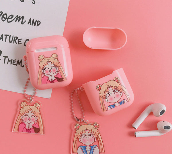 Kawaii Usagi Airpods Case For Iphone PN2012