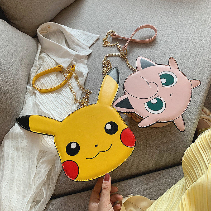 New Style Jigglypuff and Pikachu Shoulder Bag PN1665