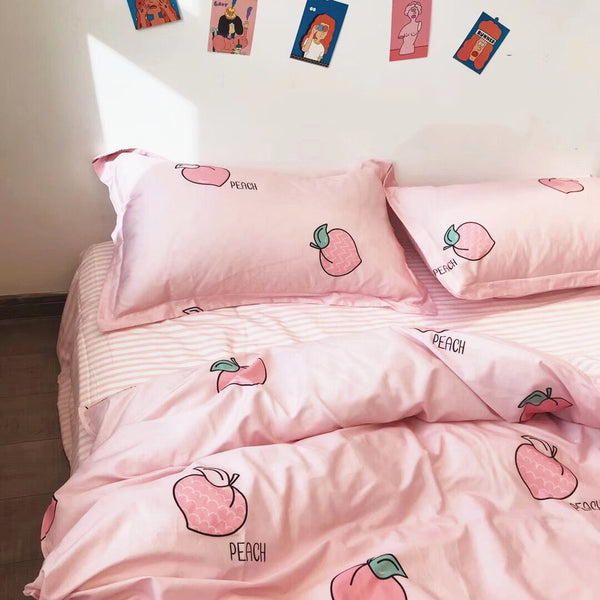 Fashion Peaches Bedding Set PN1705