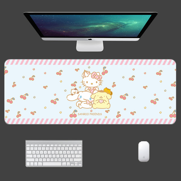 Cinnamoroll And Hellokitty Mouse Pad PN0912