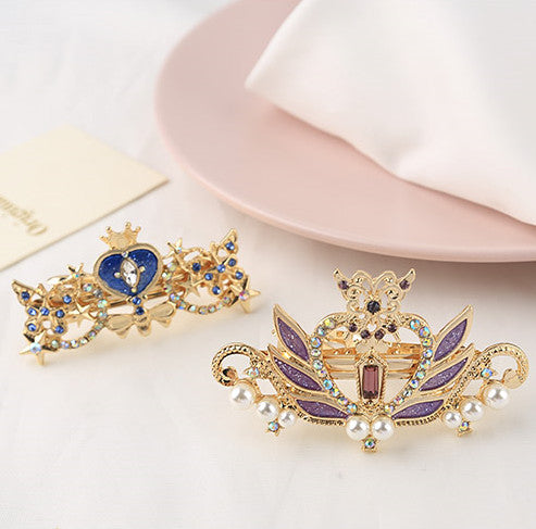 Sailormoon Crown Crystal Hair Clip PN2046