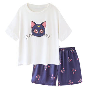 Kawaii Luna Pajamas Suits PN2732