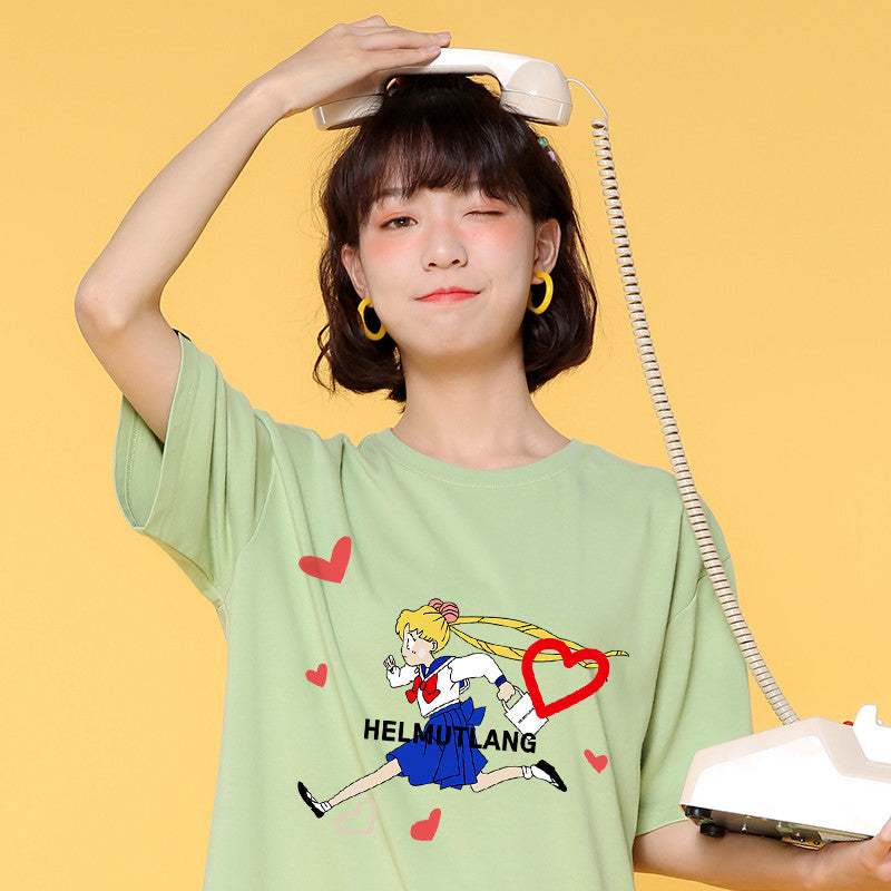 Cute Running Usagi Tshirt PN2410