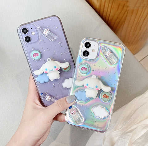 Cute Dog Phone Case for iphone 7/7plus/8/8plus/X/XS/XS Max/11/11pro/11pro Max PN3360