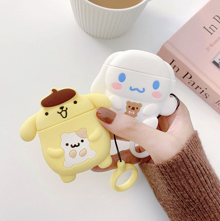 Cinnamoroll And Pompompurin Airpods Case For Iphone PN1538