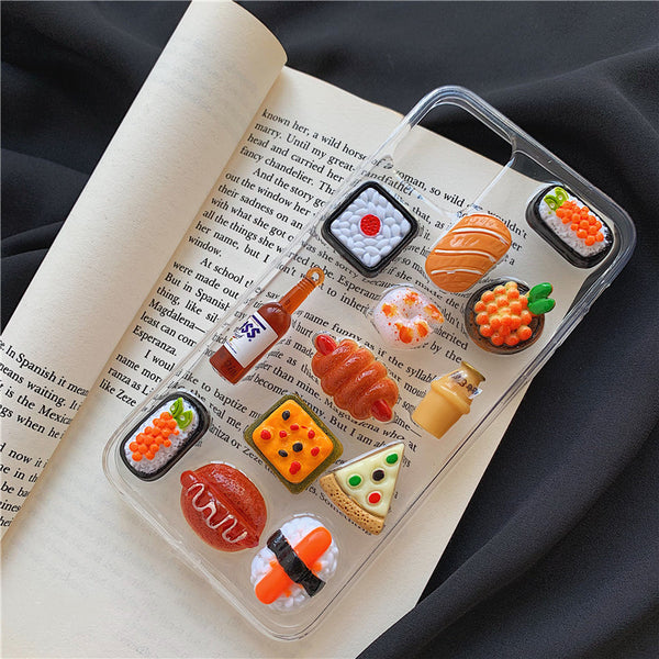Sweet Foods Phone Case for iphone 7/7plus/8/8P/X/XS/XR/XS Max/11/11pro/11pro max PN2675