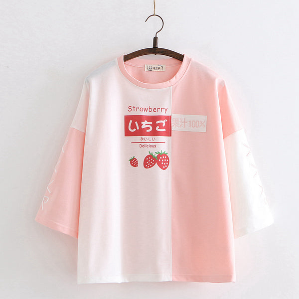 Fashion Strawberry Tshirt PN2485