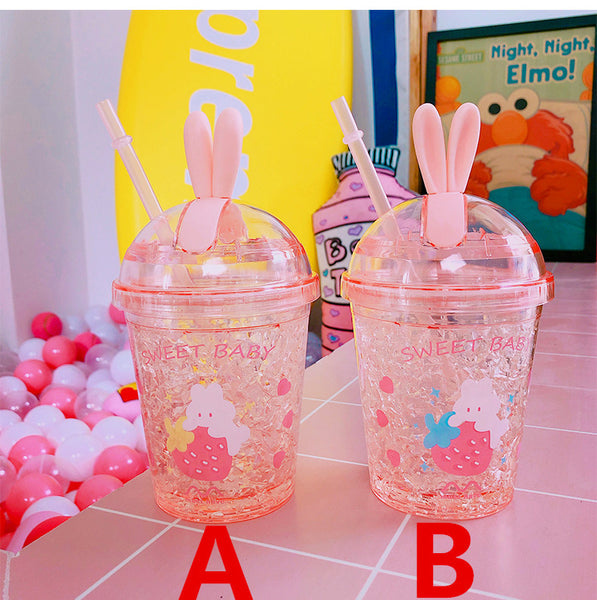 Kawaii Strawberry Water Cups PN1042