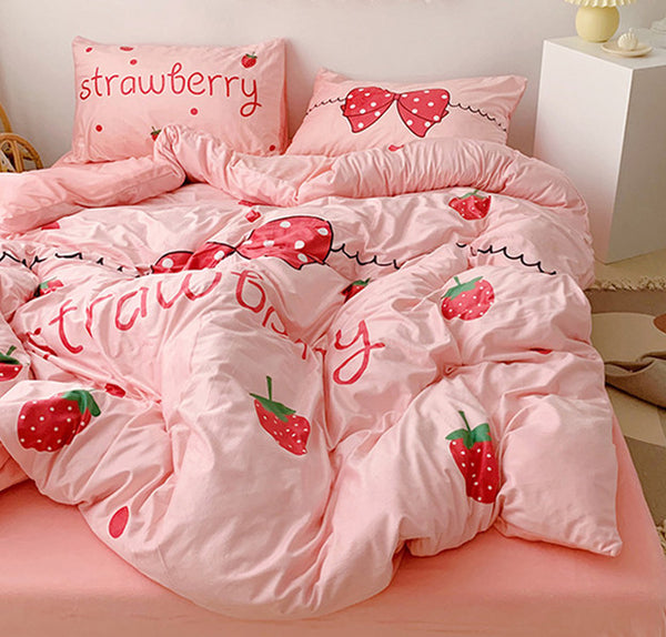 Fashion Strawberry Bedding Set PN2259