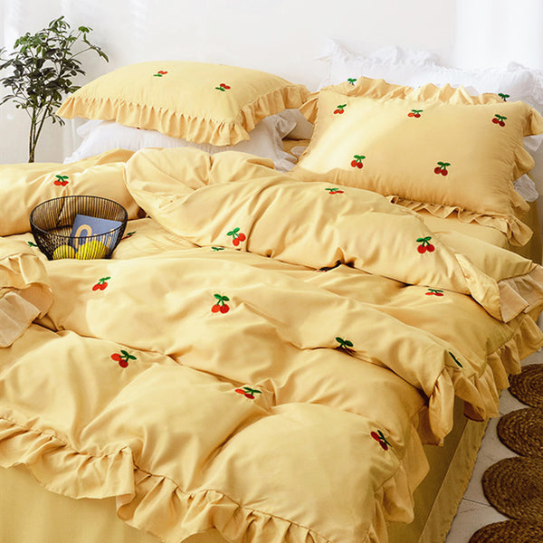 Fashion Cherry Bedding Set PN1622