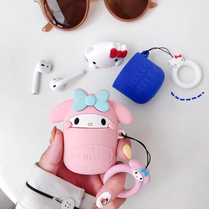 Cartoon Airpods Case For Iphone PN1477