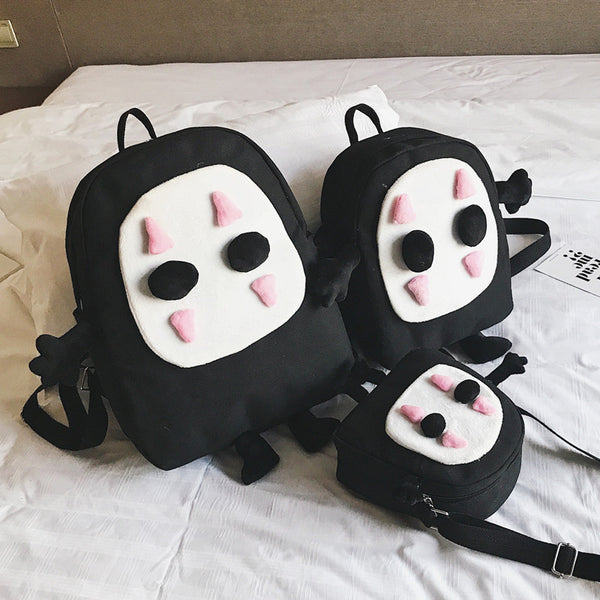 Cartoon No face man Backpack PN2211