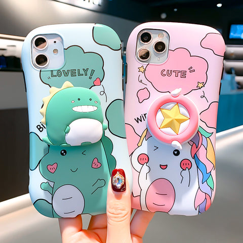 Cartoon Phone Case for iphone 6/6s/6plus/7/7plus/8/8P/X/XS/XR/XS Max/11/11pro/11pro max PN2126
