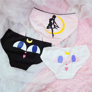 Sailormoon And Luna Underwear PN0768