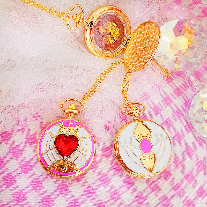 Sakura Cardcaptor Pocket Watch PN0727