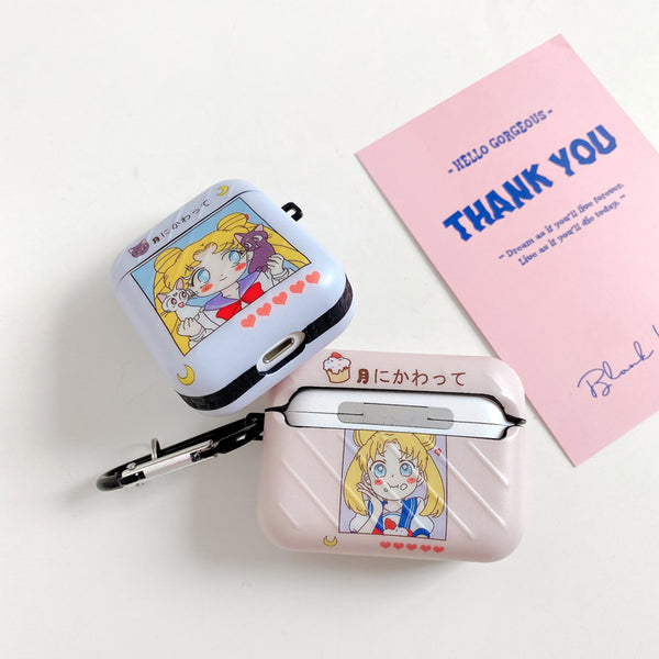 Cartoon Usagi Airpods Case For Iphone PN2736