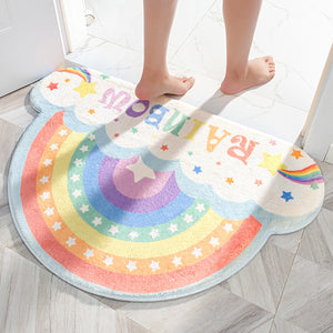 Cute Rainbow Floor Mat PN3558