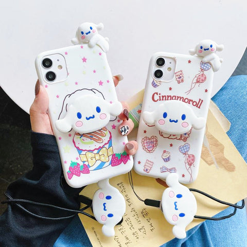 Cute Anime Phone Case for iphone 6/6s/6plus/7/7plus/8/8P/X/XS/XR/XS Max/11/11pro/11pro max/12/12mini/12pro/12pro max PN3521