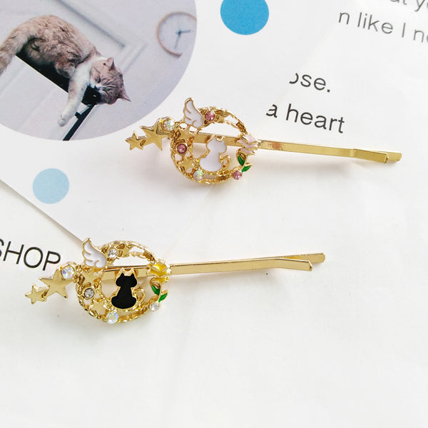 Fashion Luna Crystal Hair Clip PN1737