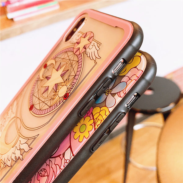 Sakura and Mymelody Phone Case for iphone 6/6s/6plus/7/7plus/8/8P/X/Xs/XR/Xs Max PN1681