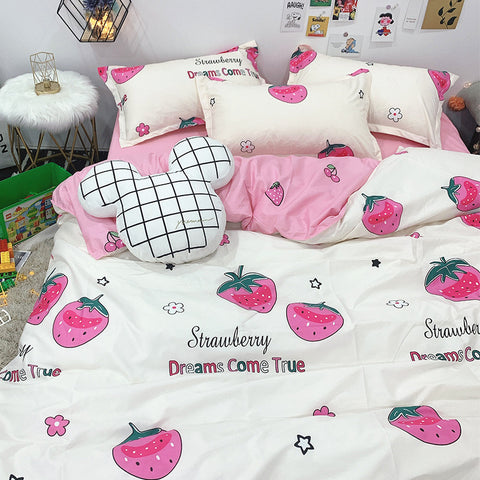 Fashion Strawberry Bedding Set PN2561