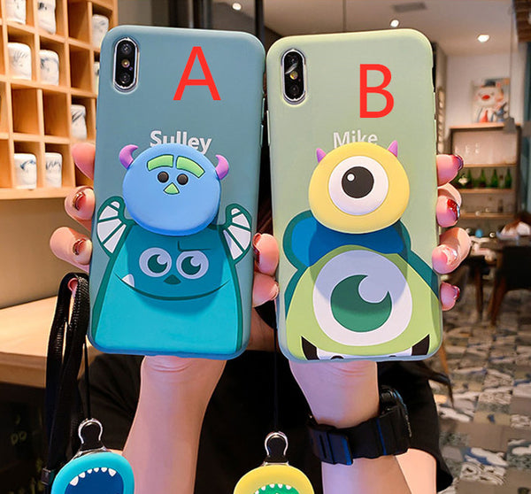 Cartoon Phone Case for iphone 6/6s/6plus/7/7plus/8/8P/X/XS/XR/XS Max PN1559