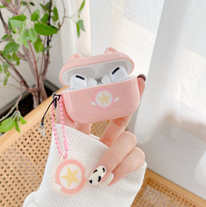 Cute Stars Airpods Case For Iphone PN3191