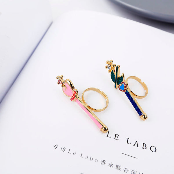 Fashion Sailormoon Wings Ring PN2047