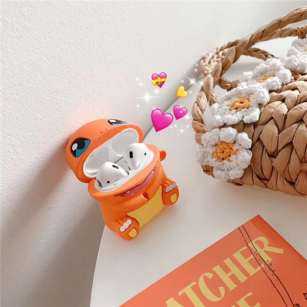 Lovely Charmander Airpods Case For Iphone PN1682