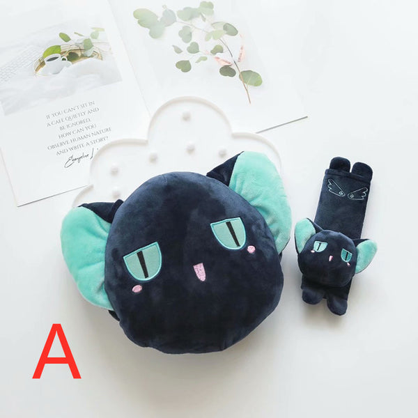 Kawaii Sakura Headrest And Shoulder pad PN1492