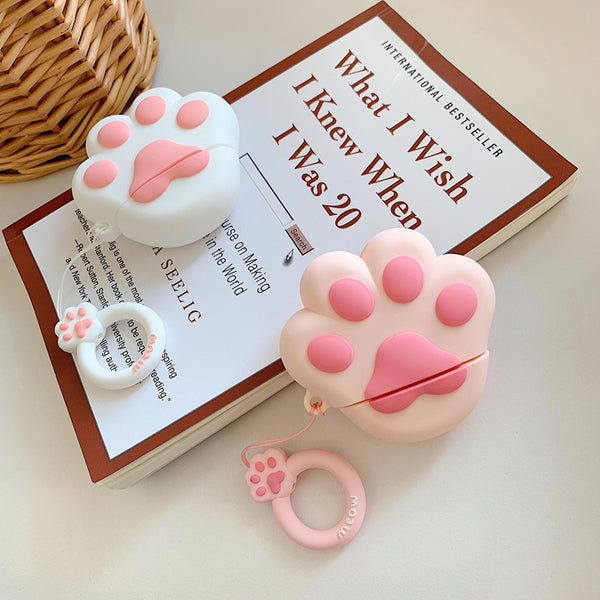 Lovely Cats Paw Airpods Case For Iphone PN1246