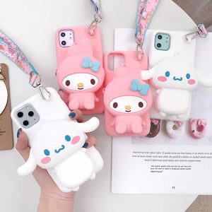 Cute Cinnamoroll Phone Case for iphone 6/6s/6plus/7/7plus/8/8P/X/XS/XR/XS Max/11/11pro/11promax PN1993