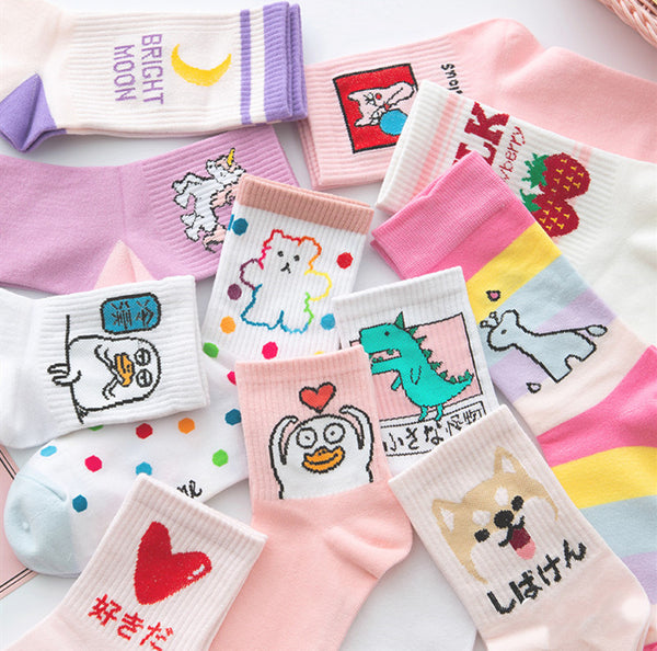 Cute Milk Girls Socks PN1833