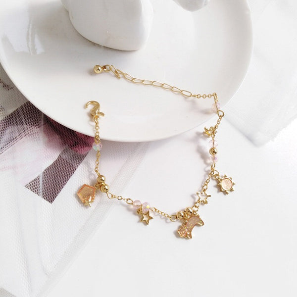 Fashion Cat and Stars Bracelet PN1540