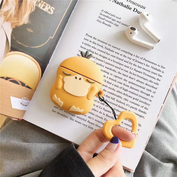 Cartoon Psyduck Airpods Case For Iphone PN1571