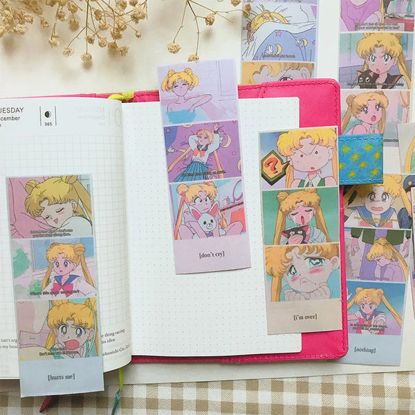 Kawaii Sailormoon Vitage Stickers PN2384
