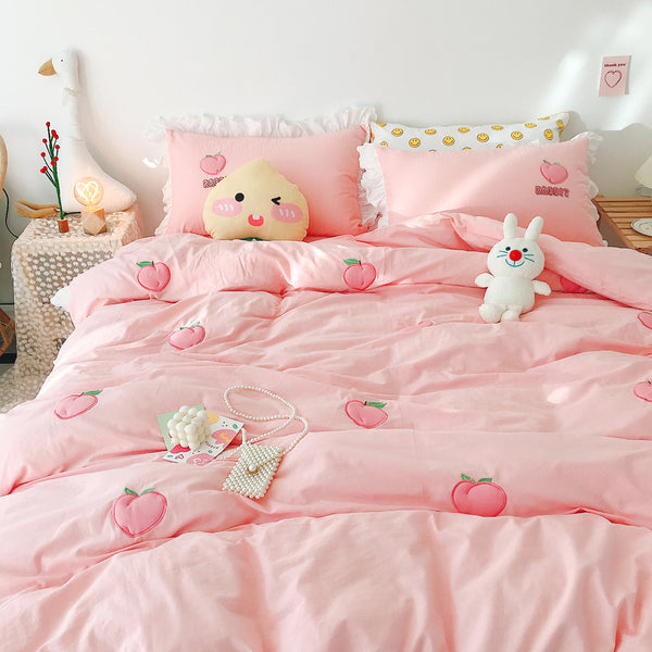 Fashion Peaches Bedding Set PN2416