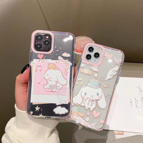 Lovely Cinnamoroll Phone Case for iphone 7/7plus/8/8P/X/XS/XR/XS Max/11/11pro/11pro max PN2195