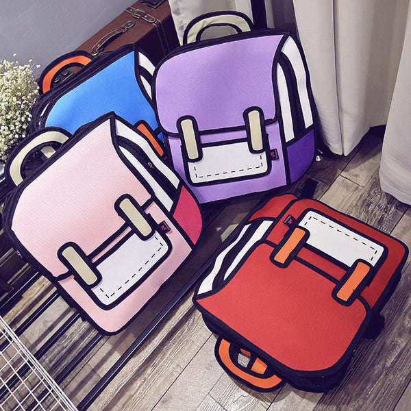 New Style Girls Backpack PN2328