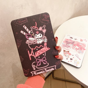 Cartoon Anime Ipad Case Set PN3547