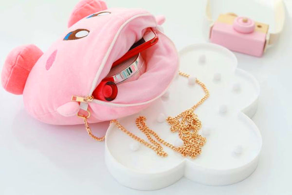 Cartoon Kirby Doll Makeup Bag PN1061