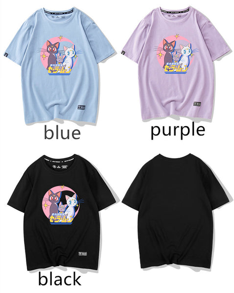 Sailormoon Luna and Artemis Tshirt PN1294