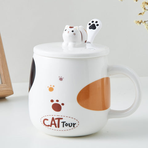 Lovely Cat Mugs Cup PN3557