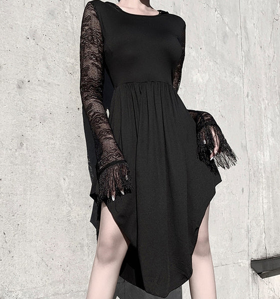 Fashion Black Dress PN2233