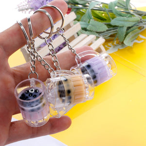 Cute Bubble Tea Key Chain PN2352