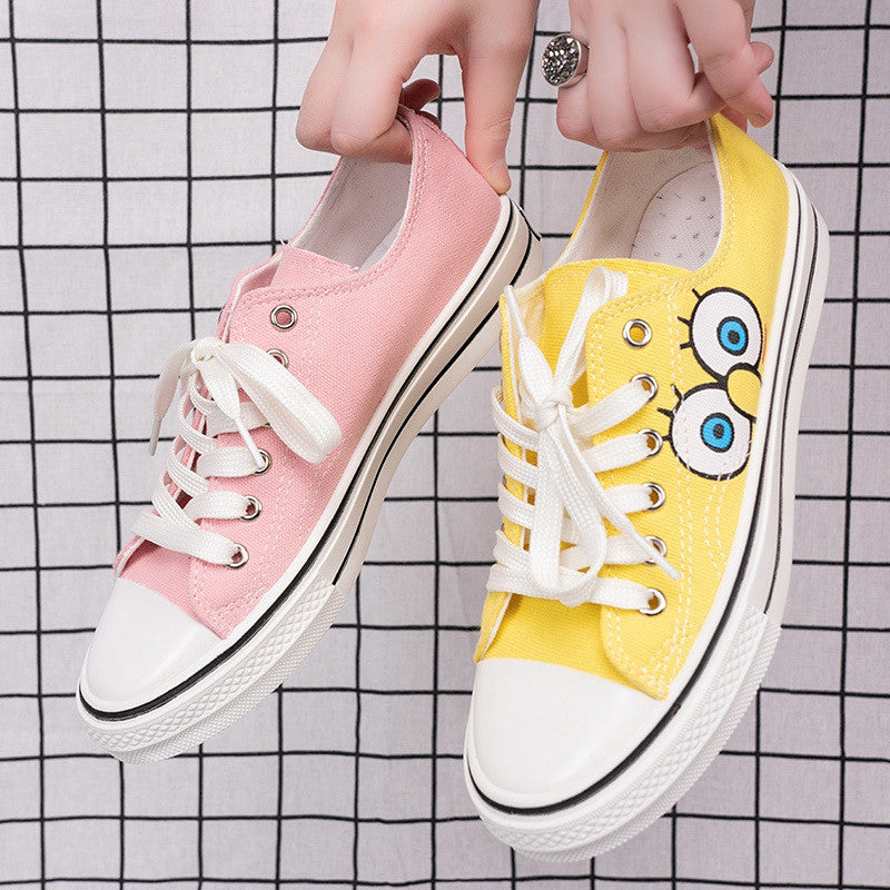 Fashion Big Eyes Lovers Canvas Shoes PN1767