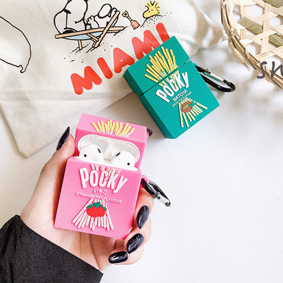 Kawaii Pocky Airpods Case For Iphone PN1961