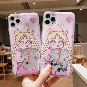 Sailormoon Phone Case for iphone 7/7plus/8/8plus/X/XS/XS Max/11/11pro/11pro Max PN2113