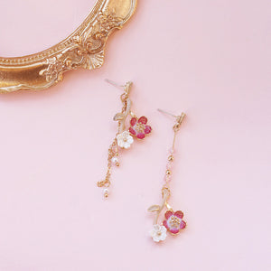 Sweet Flowers Girl Earrings PN3669